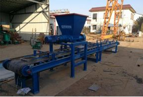 Paver production line